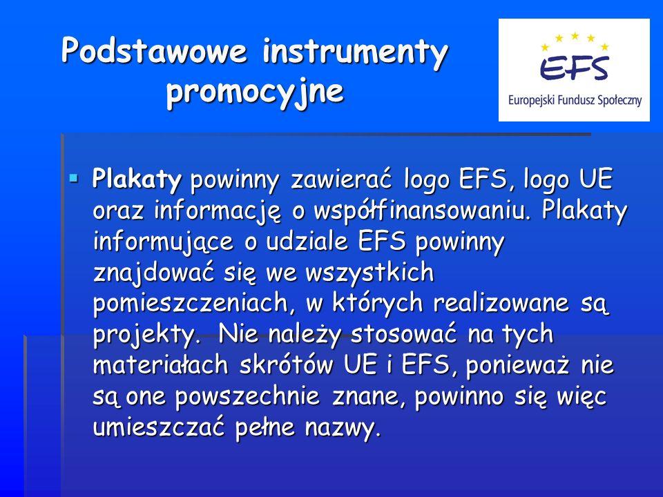 Podstawowe instrumenty promocyjne