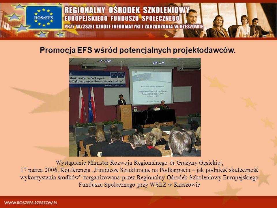 Wystąpienie Minister Rozwoju Regionalnego dr Grażyny Gęsickiej,