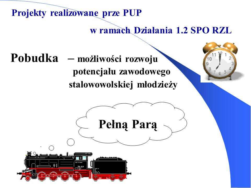 Projekty realizowane prze PUP