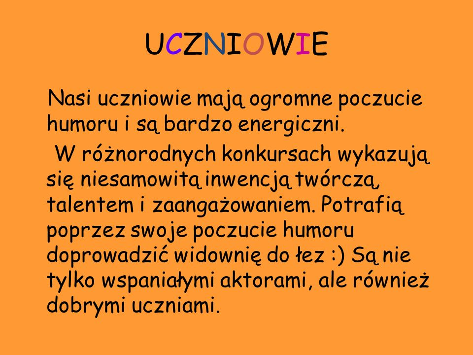 UCZNIOWIE
