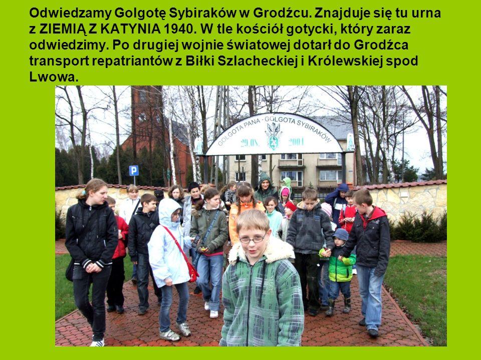 Odwiedzamy Golgotę Sybiraków w Grodźcu