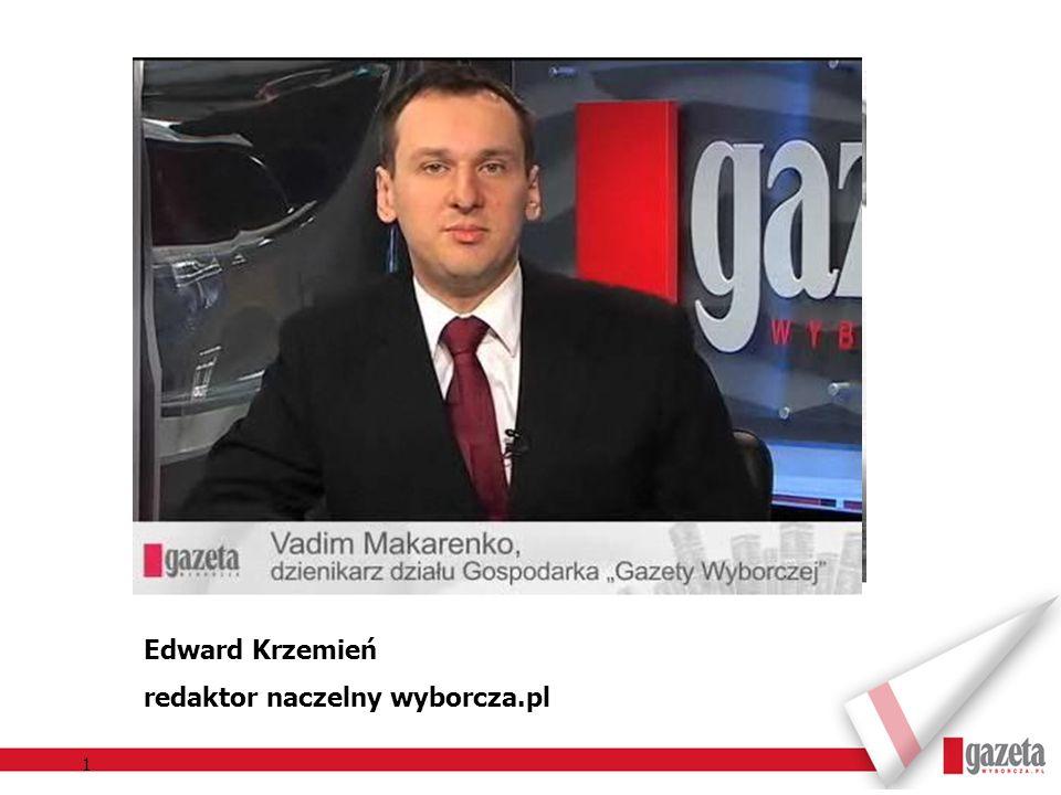 Edward Krzemień redaktor naczelny wyborcza.pl