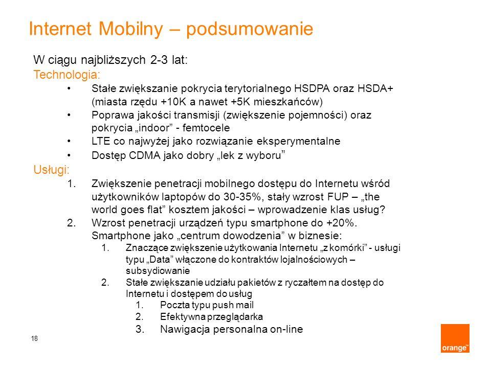 Internet Mobilny – podsumowanie