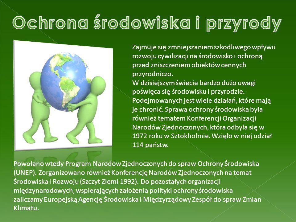Ochrona środowiska i przyrody