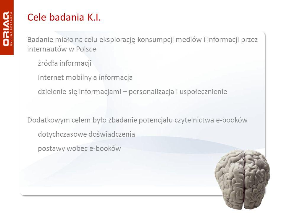 Cele badania K.I.