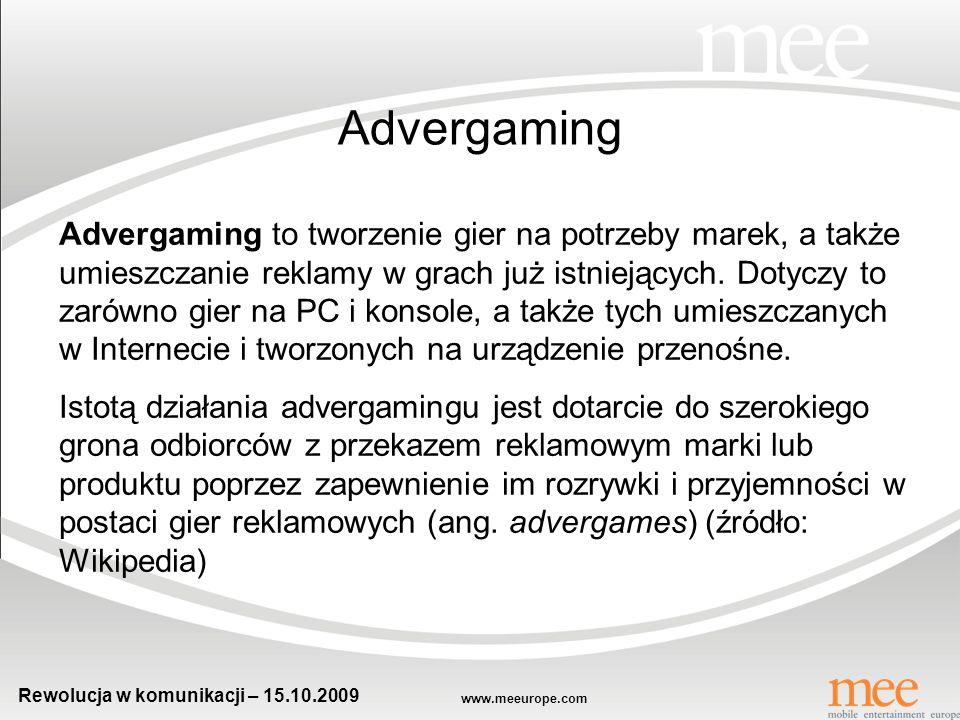 Rewolucja w komunikacji – 15.10.2009