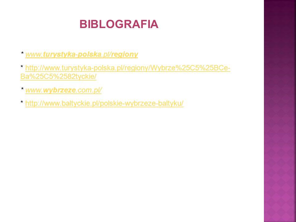 BIBLOGRAFIA * www.turystyka-polska.pl/regiony
