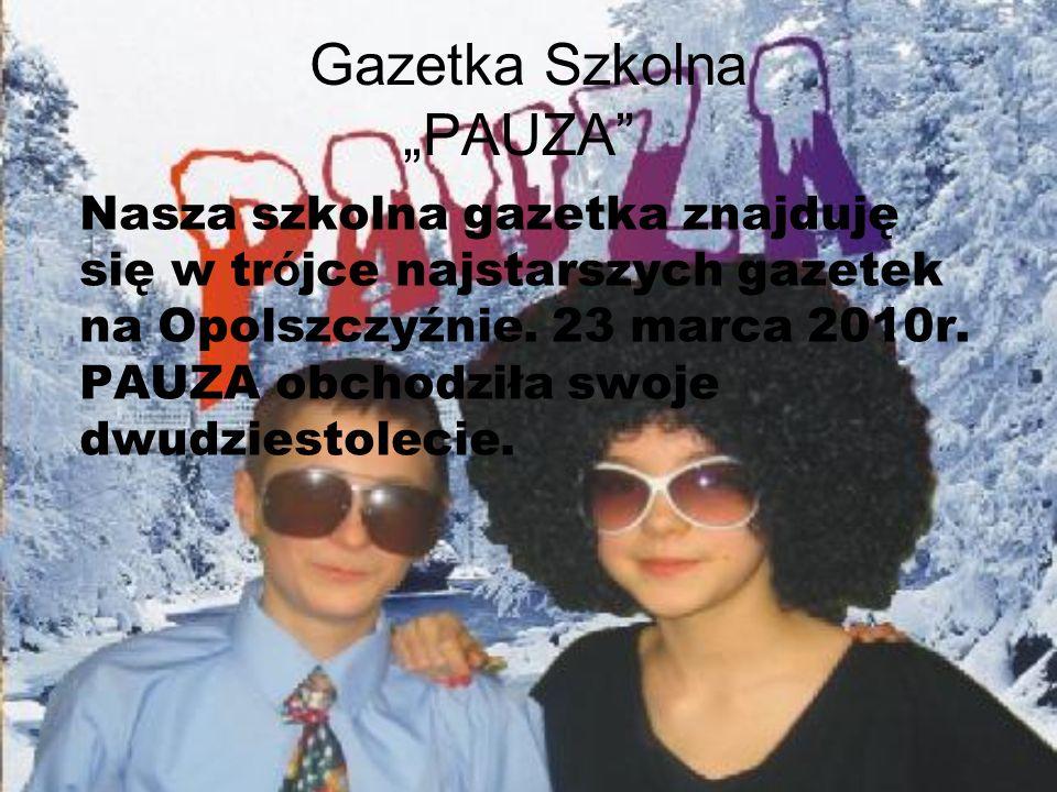 """Gazetka Szkolna """"PAUZA"""
