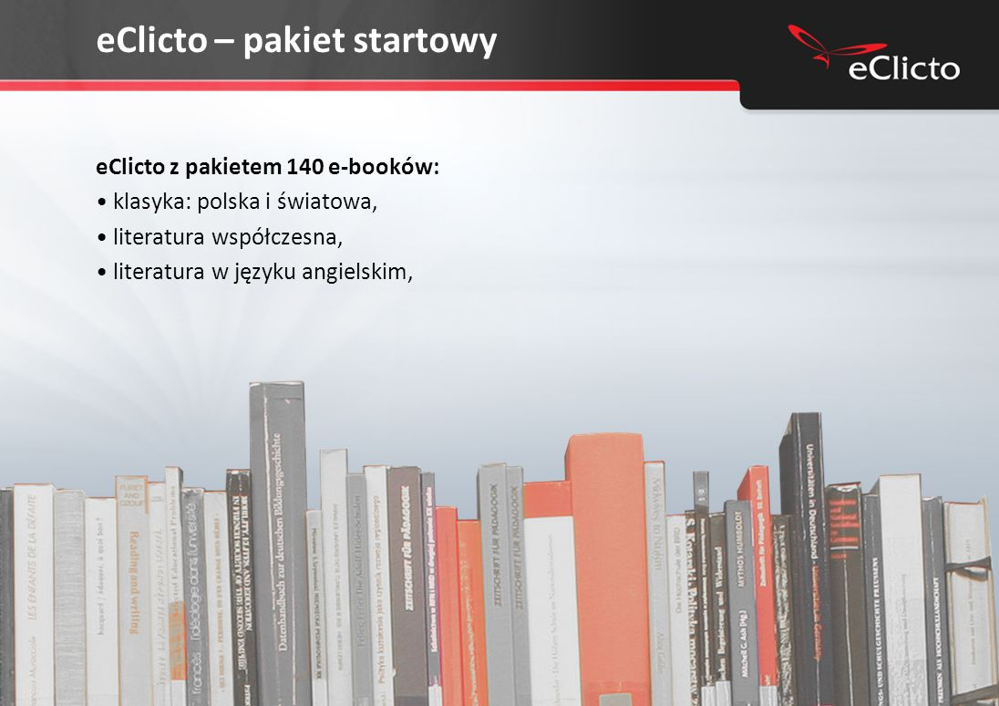 eClicto – pakiet startowy