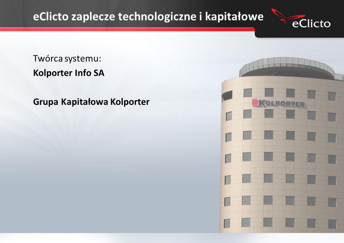 eClicto zaplecze technologiczne i kapitałowe