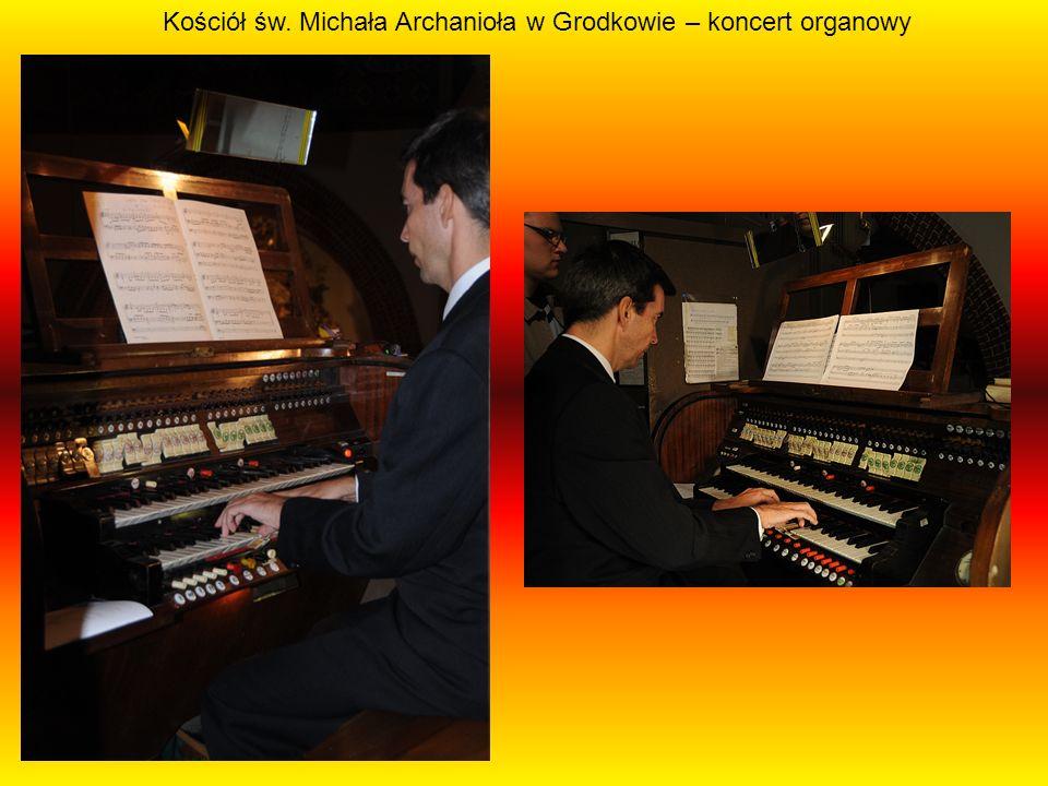 Kościół św. Michała Archanioła w Grodkowie – koncert organowy