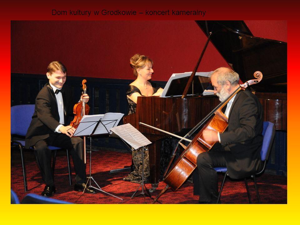Dom kultury w Grodkowie – koncert kameralny