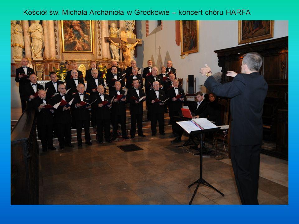 Kościół św. Michała Archanioła w Grodkowie – koncert chóru HARFA