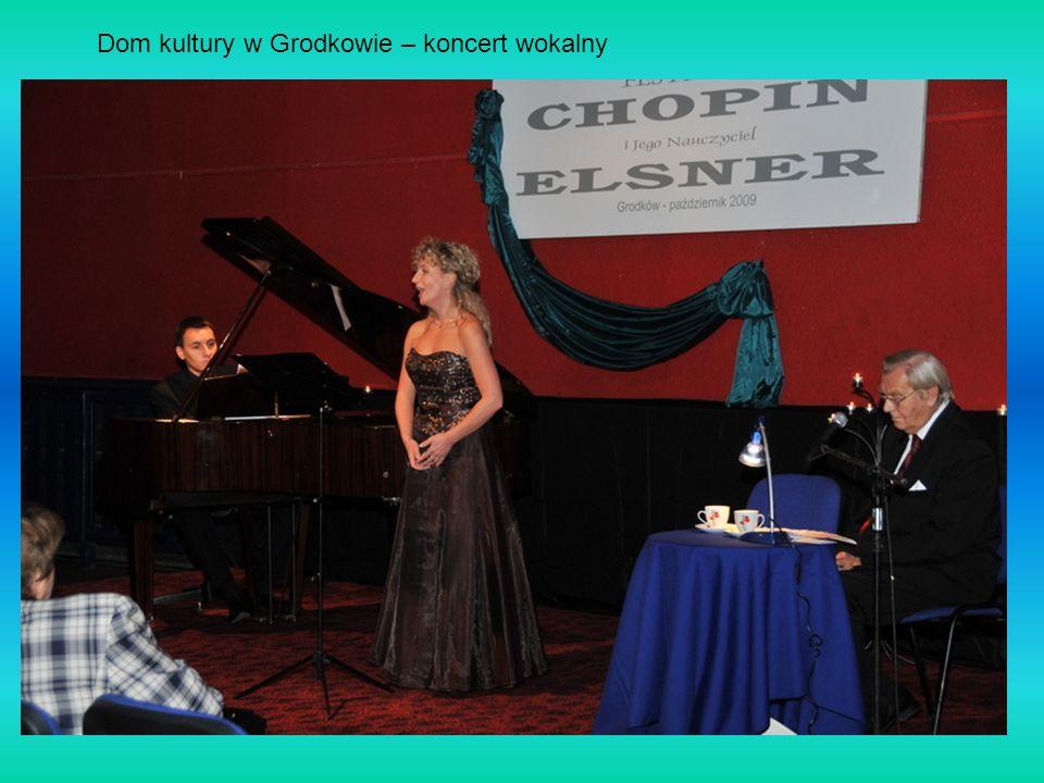 Dom kultury w Grodkowie – koncert wokalny