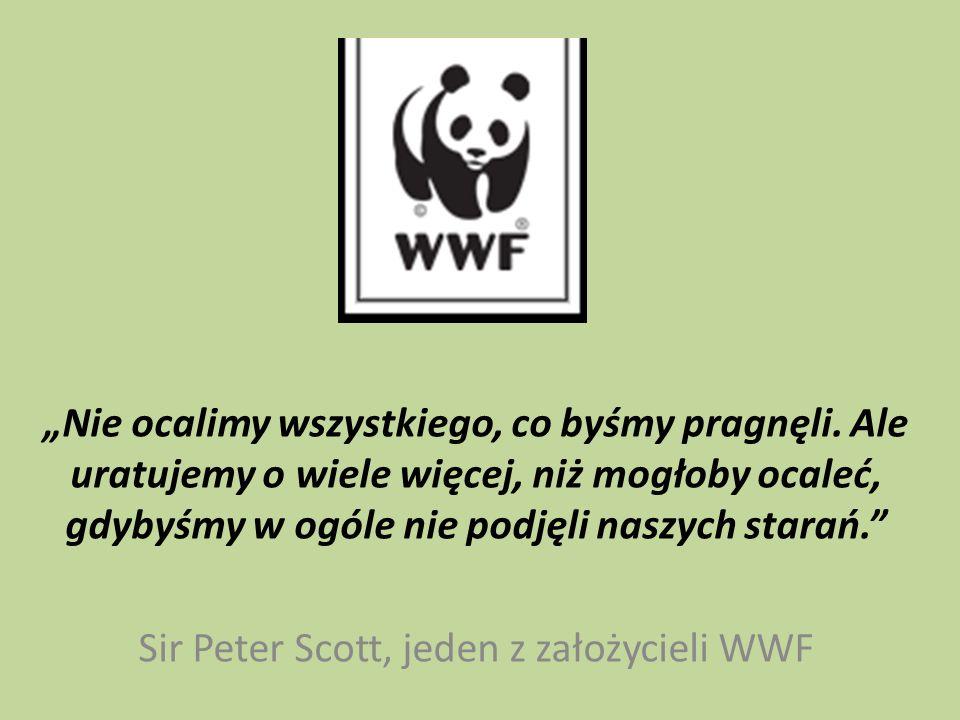 Sir Peter Scott, jeden z założycieli WWF