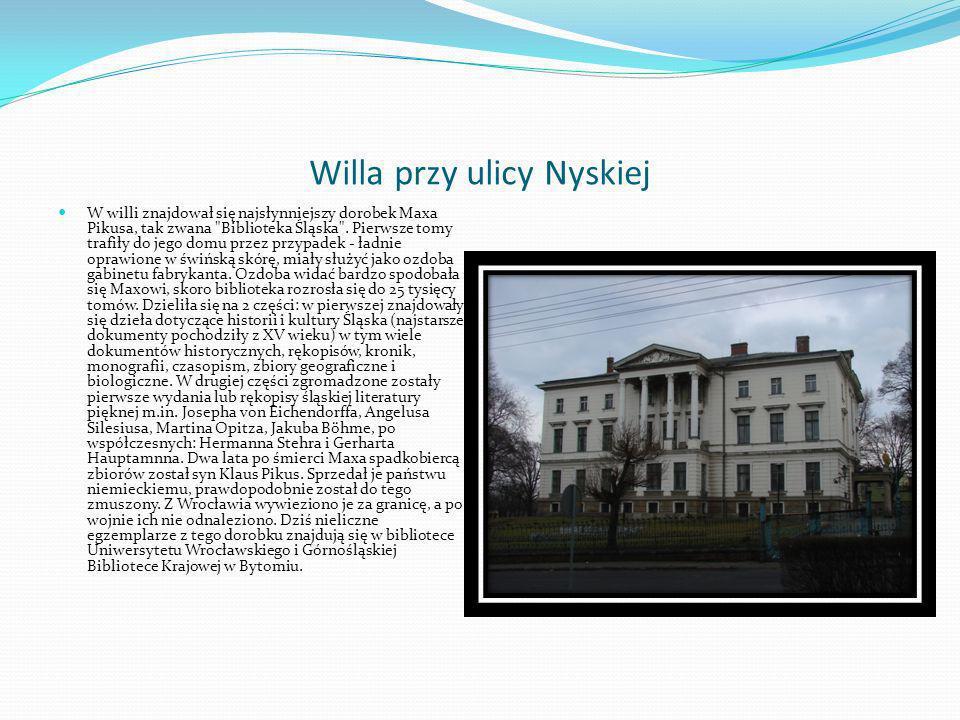 Willa przy ulicy Nyskiej