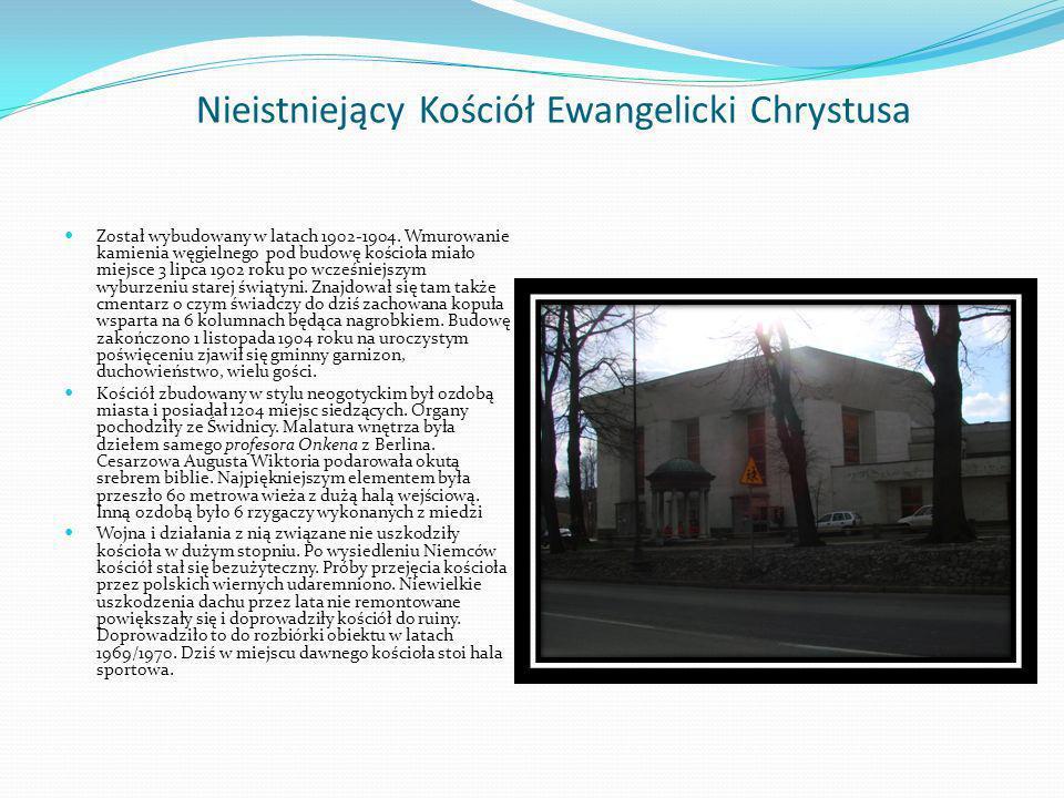 Nieistniejący Kościół Ewangelicki Chrystusa