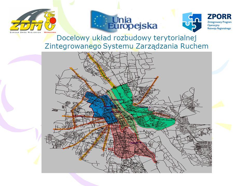 Docelowy układ rozbudowy terytorialnej