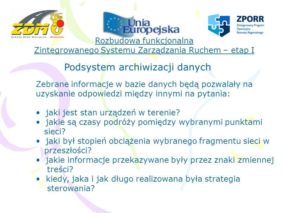 Podsystem archiwizacji danych