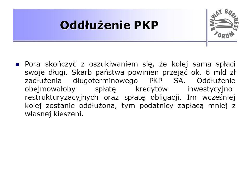 Oddłużenie PKP