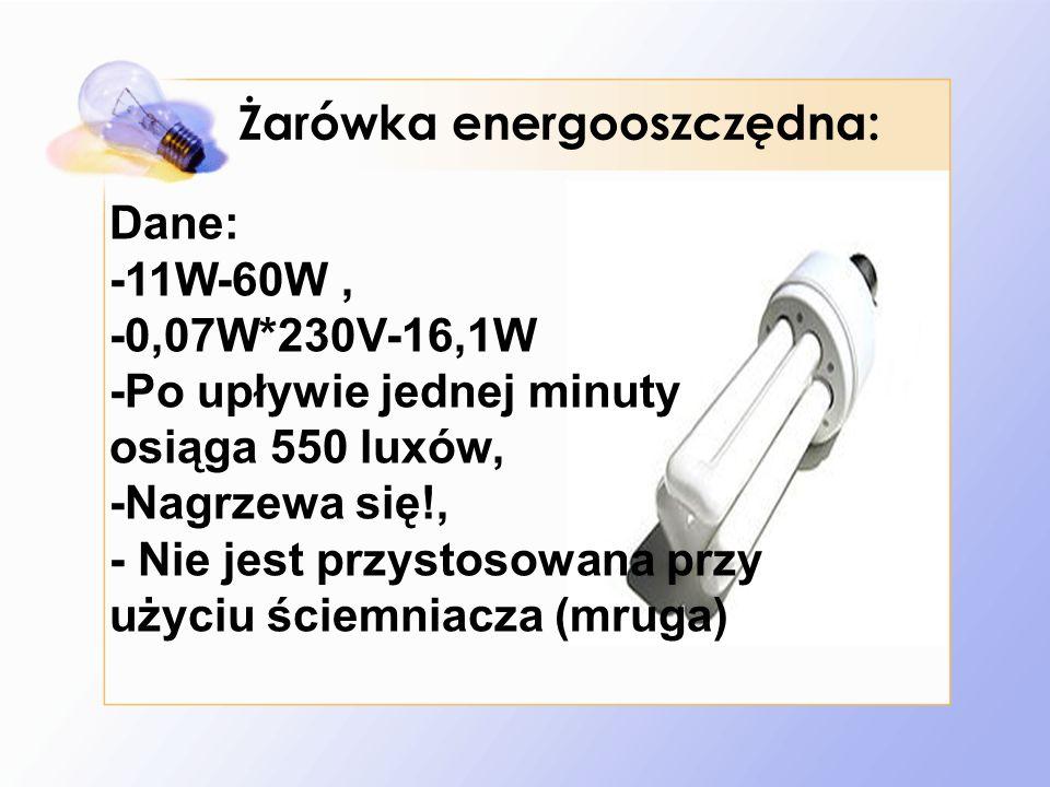Żarówka energooszczędna: