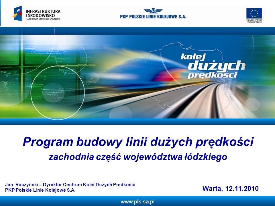 Program budowy linii dużych prędkości