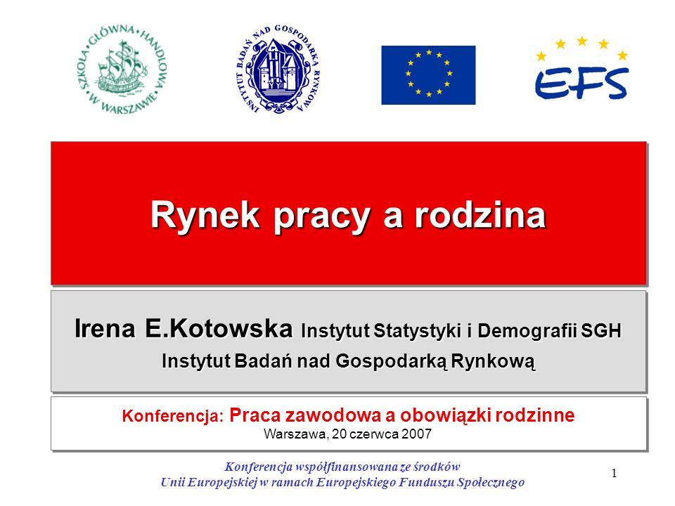 Konferencja: Praca zawodowa a obowiązki rodzinne