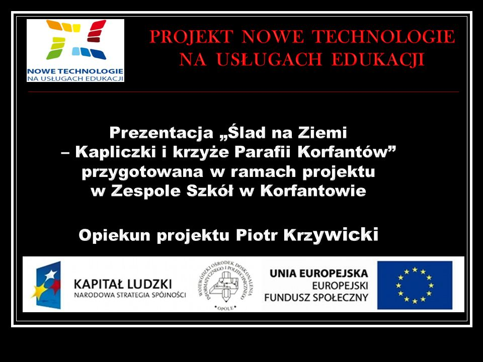 Projekt Nowe technologie