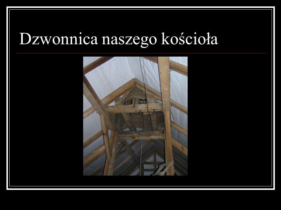 Dzwonnica naszego kościoła