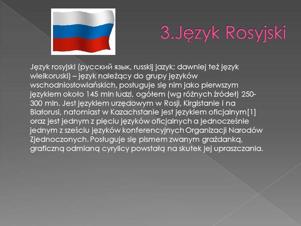3.Język Rosyjski