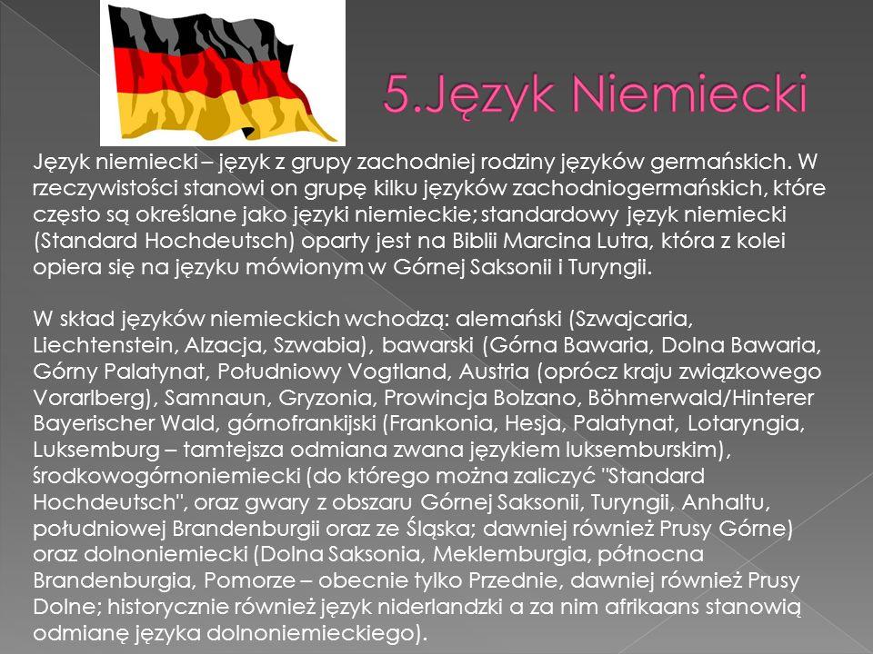 5.Język Niemiecki