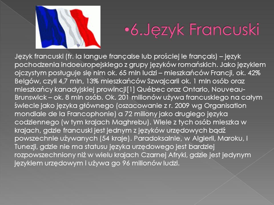 6.Język Francuski