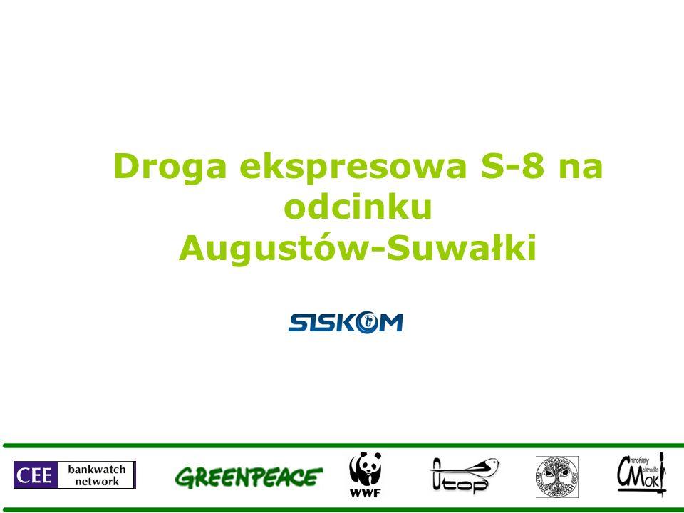 Droga ekspresowa S-8 na odcinku Augustów-Suwałki