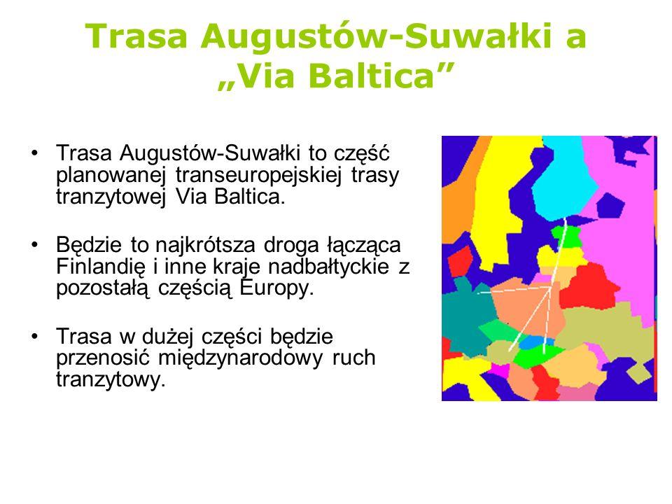"""Trasa Augustów-Suwałki a """"Via Baltica"""