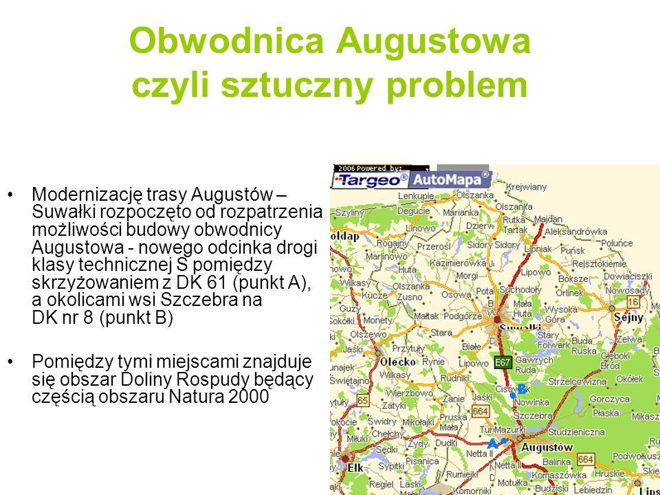 Obwodnica Augustowa czyli sztuczny problem
