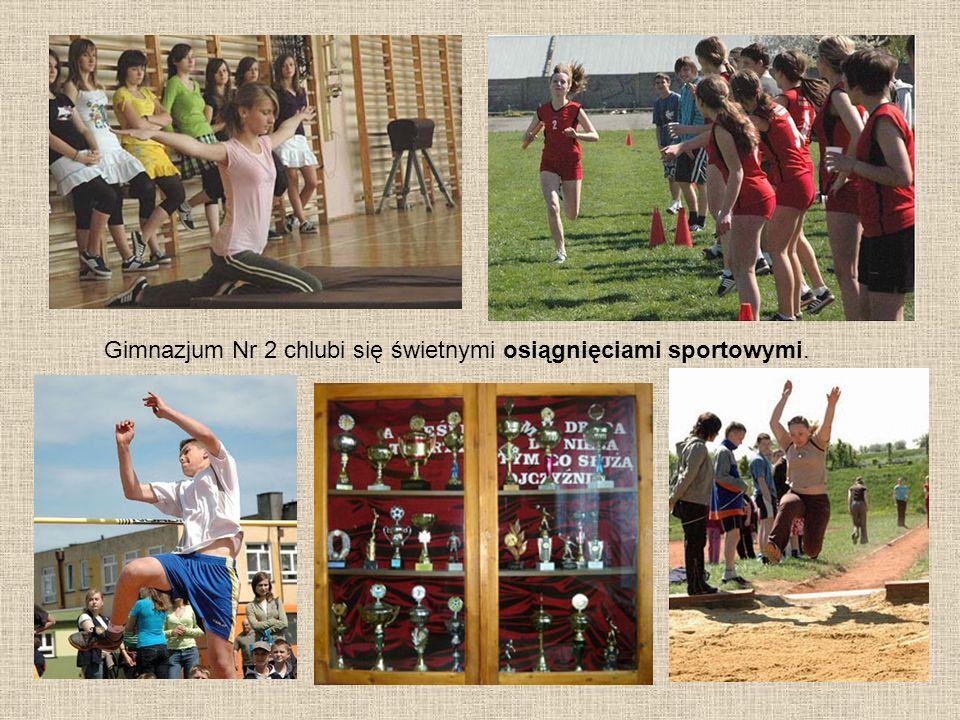 Gimnazjum Nr 2 chlubi się świetnymi osiągnięciami sportowymi.