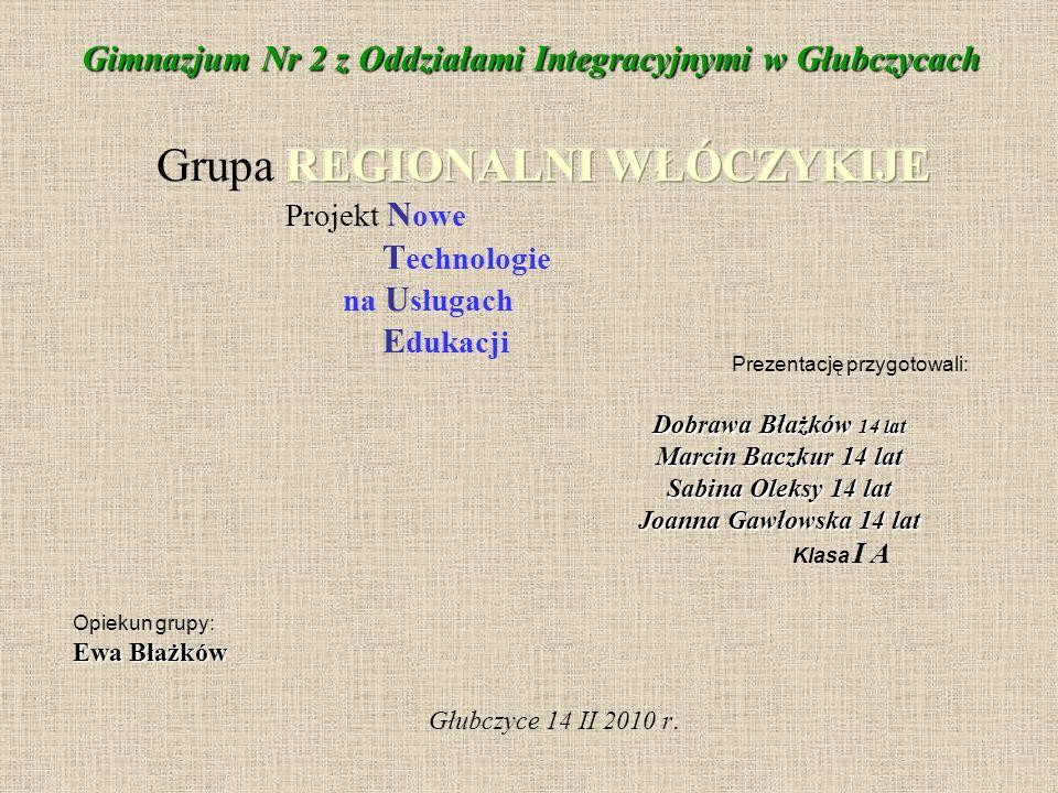 Grupa REGIONALNI WŁÓCZYKIJE