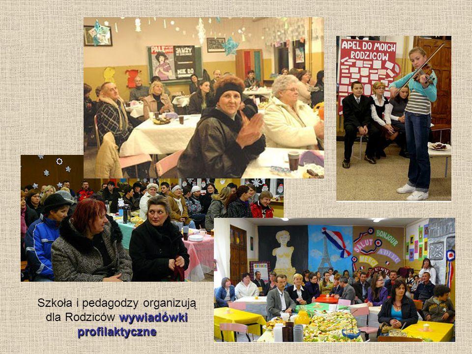 Szkoła i pedagodzy organizują dla Rodziców wywiadówki profilaktyczne