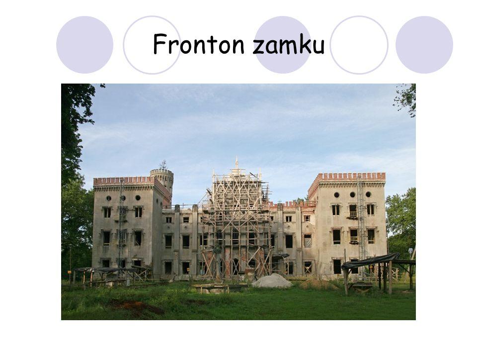 Fronton zamku