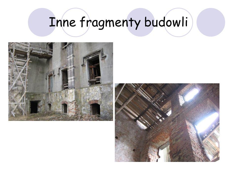 Inne fragmenty budowli