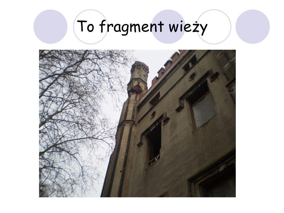 To fragment wieży