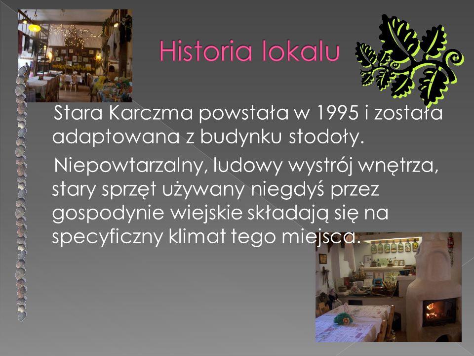Historia lokalu