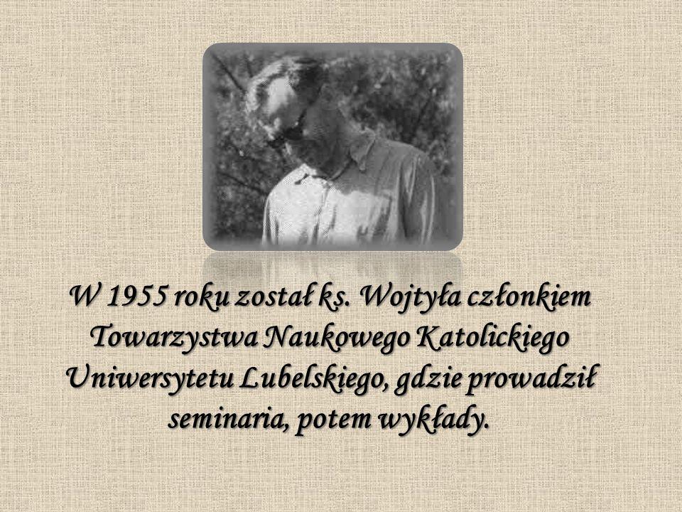 W 1955 roku został ks.