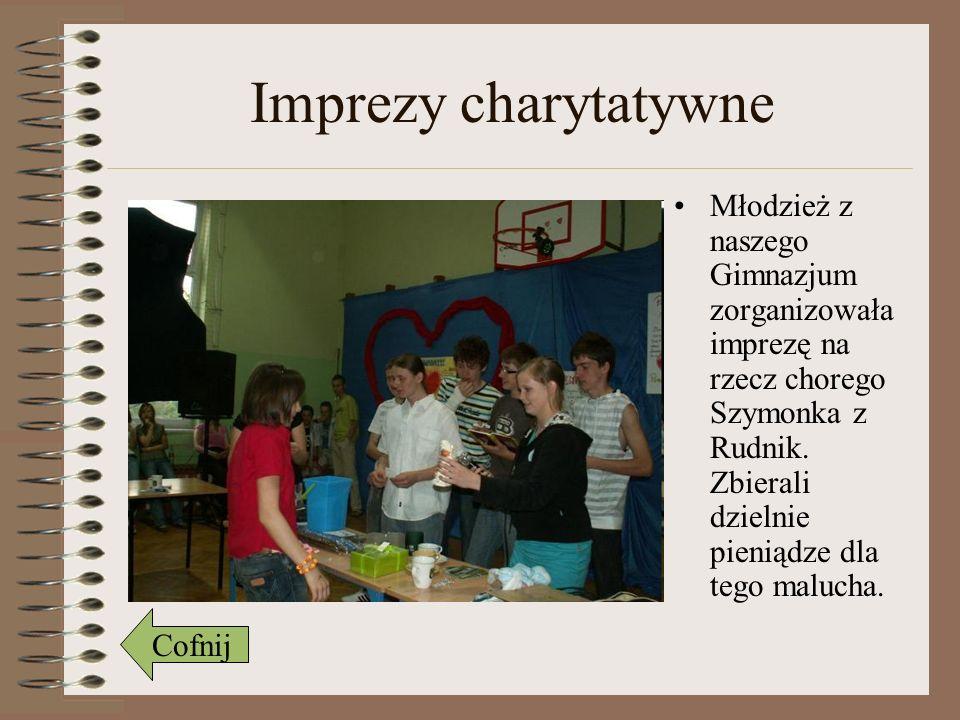 Imprezy charytatywne