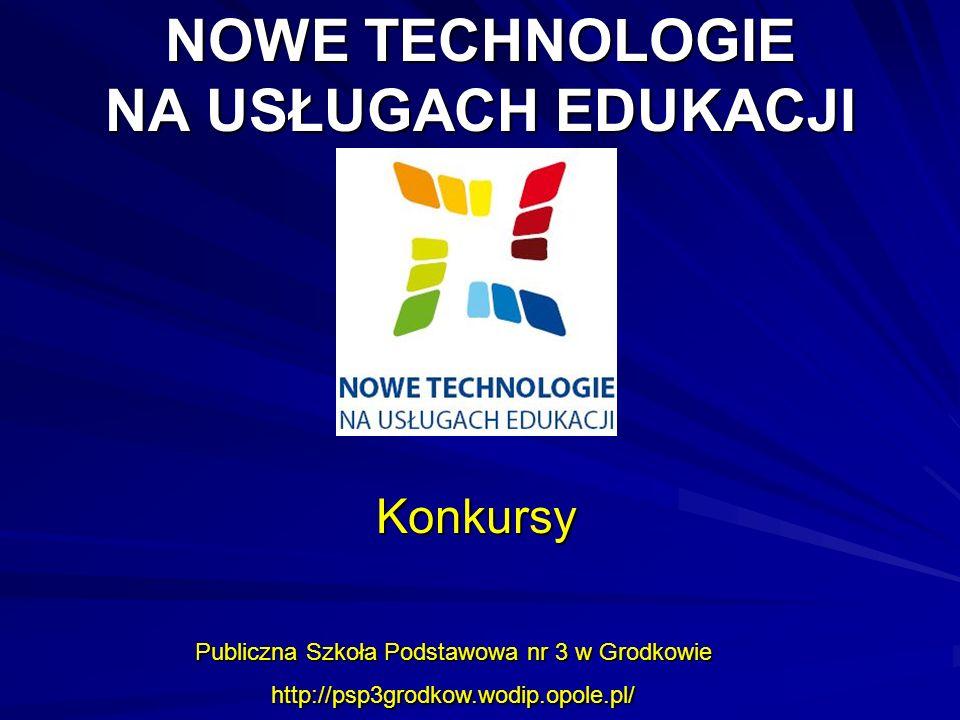 NOWE TECHNOLOGIE NA USŁUGACH EDUKACJI