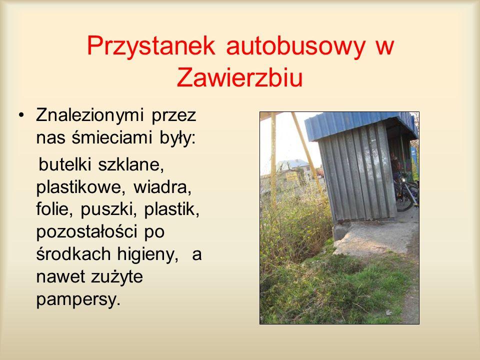 Przystanek autobusowy w Zawierzbiu