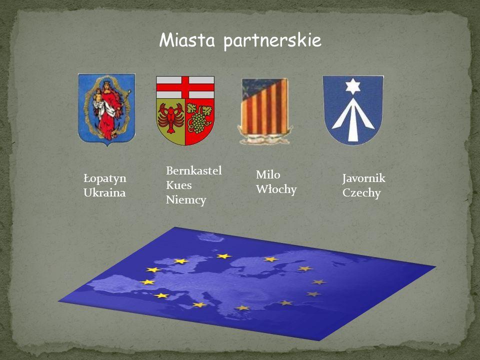 Miasta partnerskie Bernkastel Kues Niemcy Milo Włochy Łopatyn Ukraina