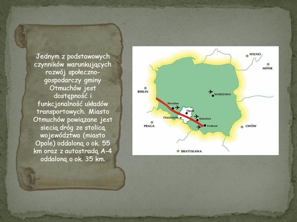 Jednym z podstawowych czynników warunkujących rozwój społeczno-gospodarczy gminy Otmuchów jest dostępność i funkcjonalność układów transportowych.