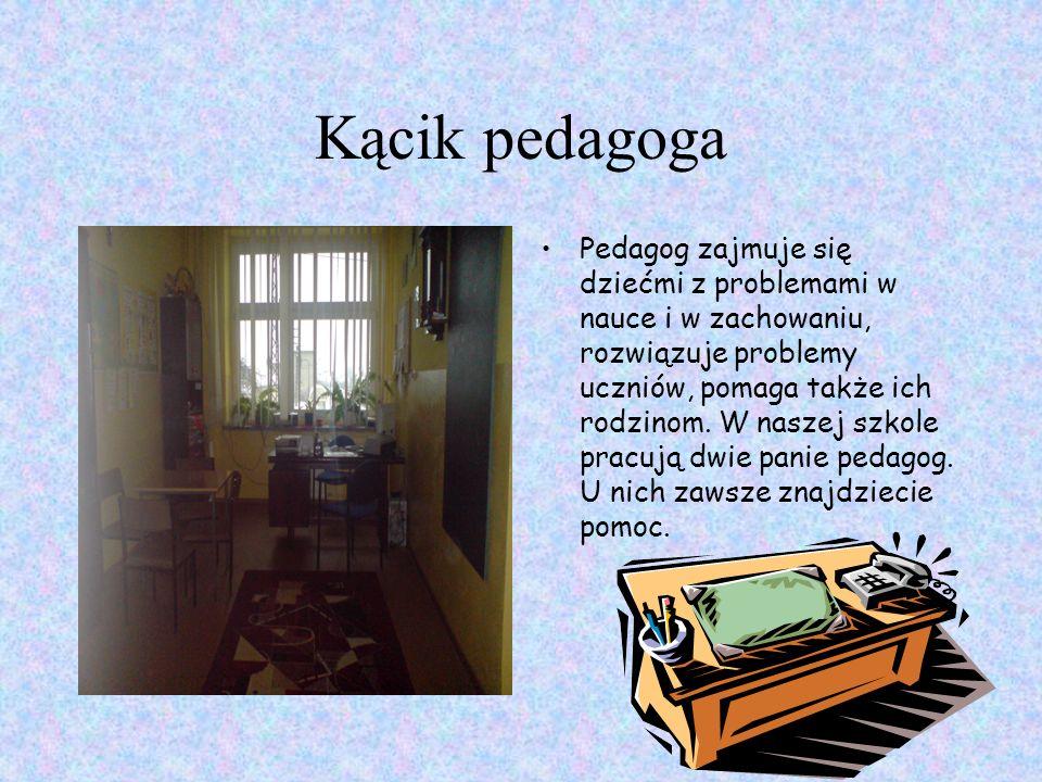 Kącik pedagoga