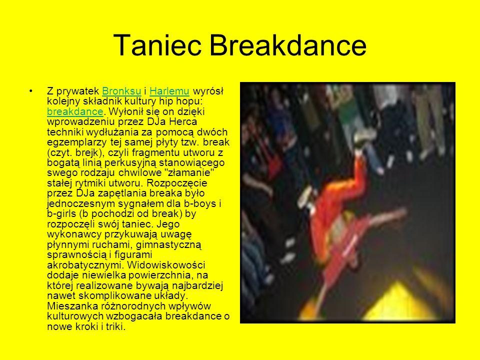 Taniec Breakdance